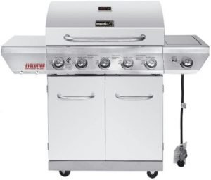 Nexgrill 720-0882A Evolution 5-Burner Propane Gas Grill with Infrared Technology